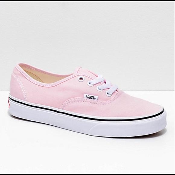 Vans Shoes | Vans Pink Sneaker Women 8